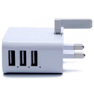 Universal 3USB UK Standard Charger