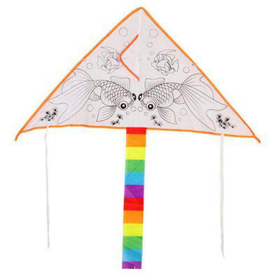 Graffiti Handmade Blank DIY Hand Drawn Kite