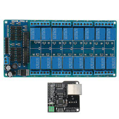 Ethernet Control Module with 16 Channel Relay