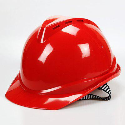 ABS Crimping V-type Breathable Safety Helmet