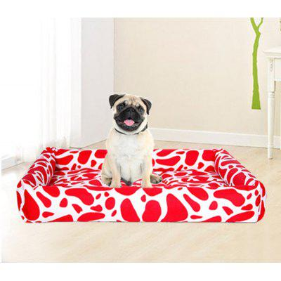 Spring and summer ice cold nest pad scratch and bite resistant teddy dog pad