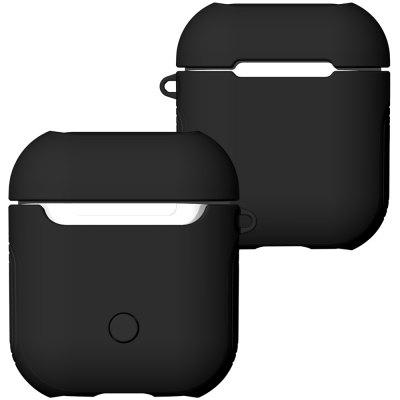 Angibabe 2-in-1 TPU + Box Headset PC pour AirPods