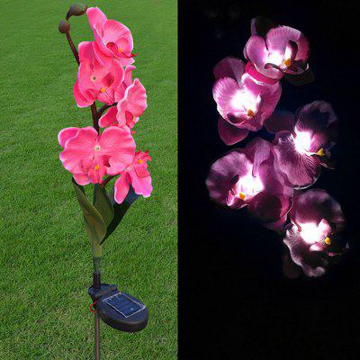 Solar Flower Light LED Lantern Decorative Outdoor Lawn Garden Lamp
