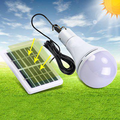 BLS - 70 - 25RC 9W Portable Bulb-shape Solar Power Light for Camping