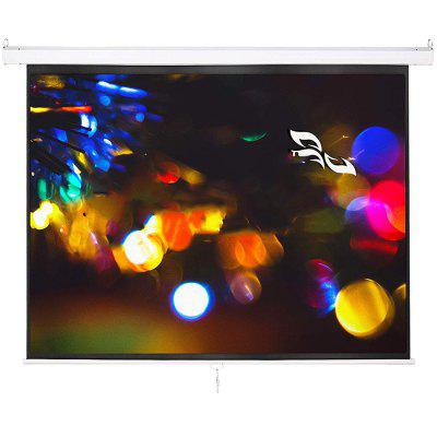 HD Projector Screen 60 inch 4:3 Foldaway Movie Home Theater Projection Curtain