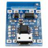 Micro USB 5V 1A Lithium Battery Charging Module Board - CRYSTAL BLUE