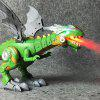 Elektrische Interactieve Spray Brandsimulatie Dinosaur Light Sound Talking Toy - MELKWIT