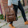 Men Charging Anti-theft Notebook Travelling Backpack - CAMEL BROWN