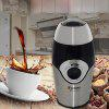 SZJ - R12SS Stainless Steel Household Electric Coffee Bean Grinder - SILVER