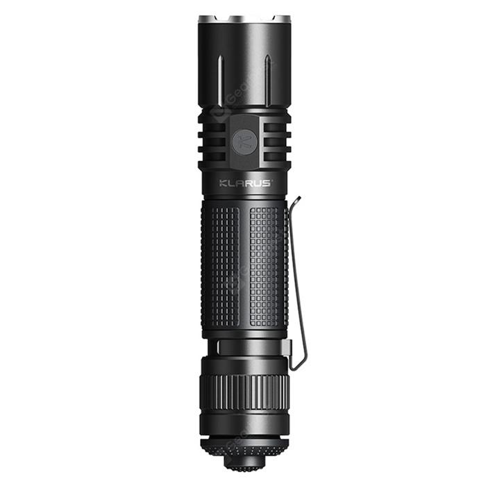 KLARUS 360X1 CREE-XHP35 1800LM Rapid Reaction Tactical Flashlight 360° Omni-Directional Dual Switch