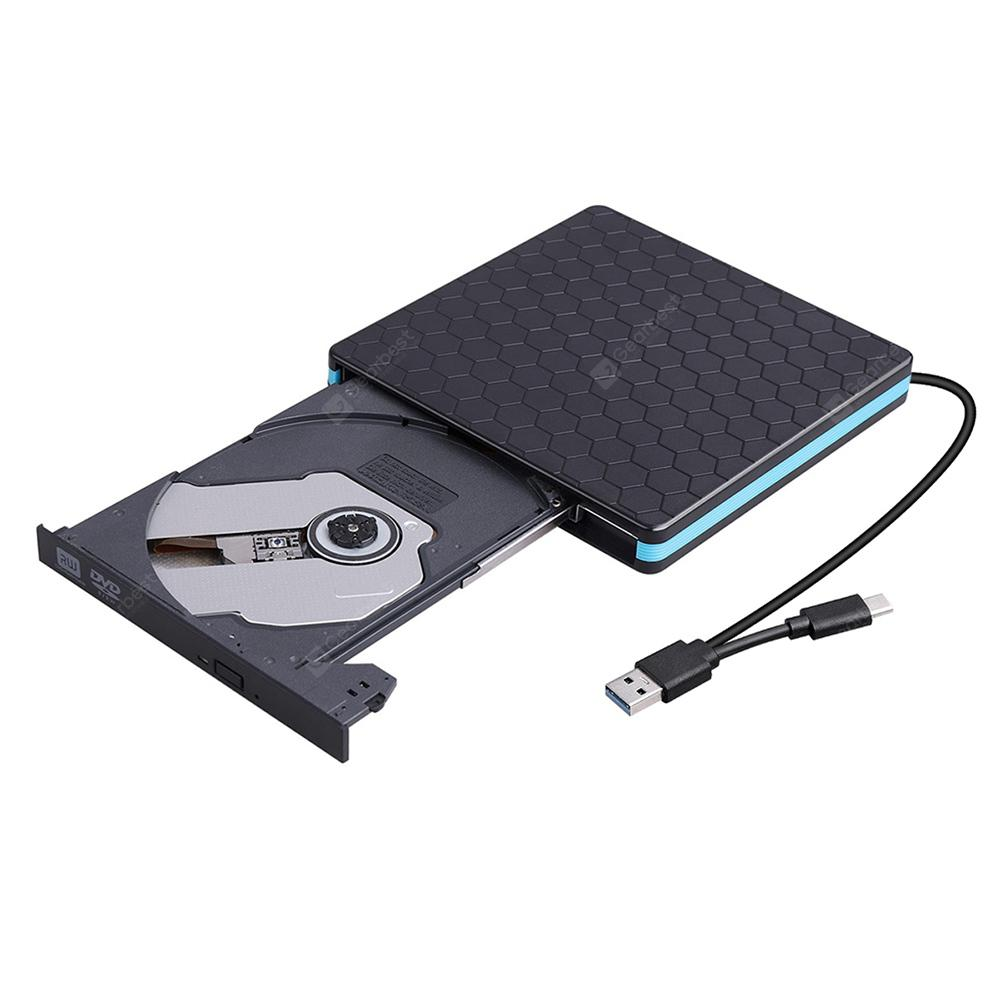 CY UC - 094 External CD DVD Drive USB 3.0 Type-C Portable Slim ROM RW Rewriter / Writer / Reader