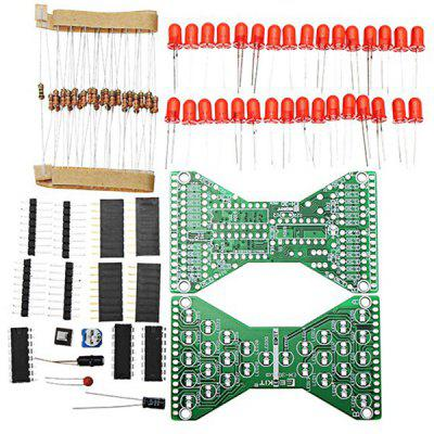 Soldering Practice Spare Parts Module Integrated Circuits DIY Electronic Hourglass Kit  for EH-30 DC Or Battery