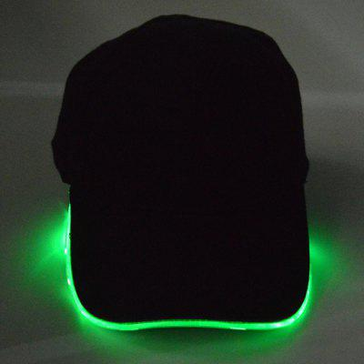 Led Baseball Cap LED Luminous Fiber Cap