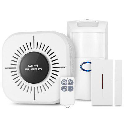 CS100 WiFi Home Security Alarm System Remote Control Motion Sensor