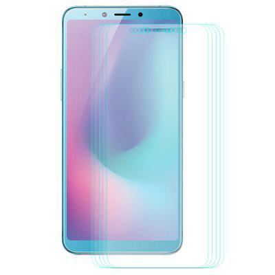ENKAY 0.26mm 9H 2.5D Arc Side Full Screen Tempered Glass Protective Film 10 pcs for Samsung Galalxy A6S