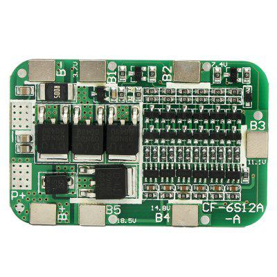 6S 15A 24V PCB BMS Protection Board for 6 Pack 18650 Li-ion Lithium Battery Cell Module