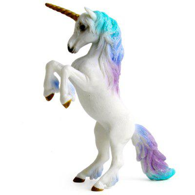 Unicorn Doll Toy Simulation Mini Animal Model