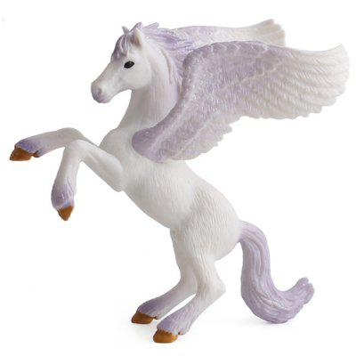 Unicorn Doll Hračka Simulace Mini Animal Model