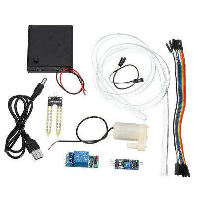 DIY Automatic Irrigation Module Kit with Soil Moisture Sensor Detection Automatic Watering Pumping
