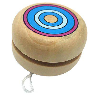 Puzzle Sports Wooden Yoyo Ball Toy