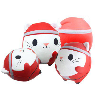 Christmas Cat Slow Slow Toy