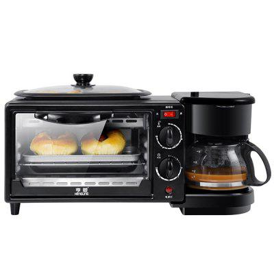 HL - K - 9 Breakfast Machine Home Oven Three-in-one Toaster