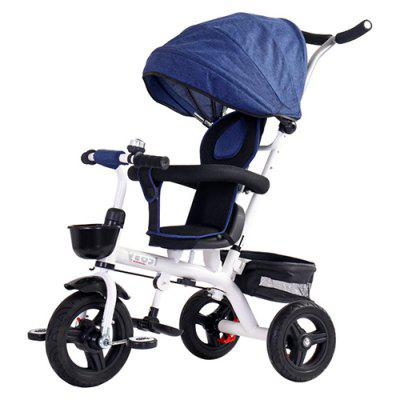 ICOSY Lightly Tricycle Bicycle Baby Trolley Stroller