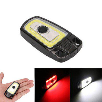 3W Mini USB Rechargeable LED Keychain Flashlight Light for Camping