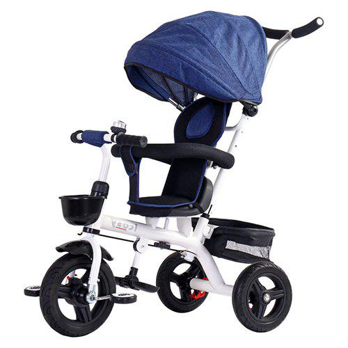 Lightly Tricycle Bicycle Baby Trolley Stroller – Blueberry Blue 385688401