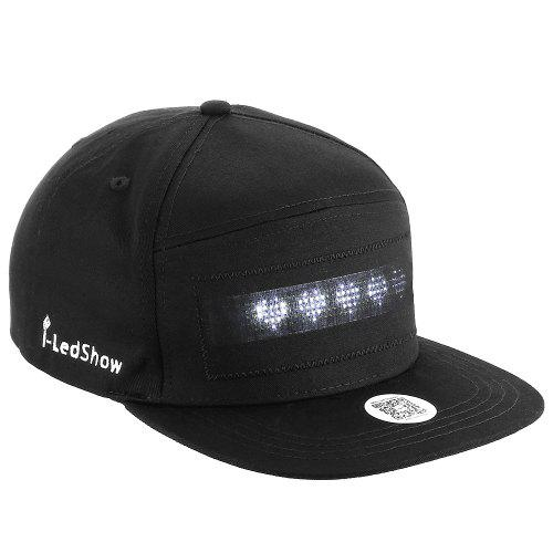 LED Cool Hat with Screen Light