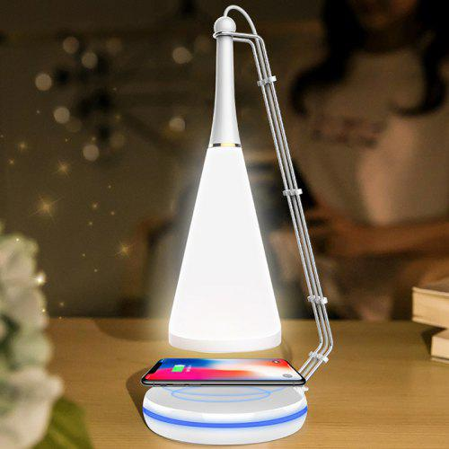 Smart Bluetooth Speaker Wireless Charging Table Lamp