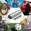 Mini Electric Inflatable Pump 150PSI Auto Air Compressor with Tire Pressure Sensor LED Light - SILVER