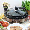 XP - B01R Home Korean Multi-function Oven Steamer Health Electric Roast Hot Pot - CHAMPAGNE GOLD