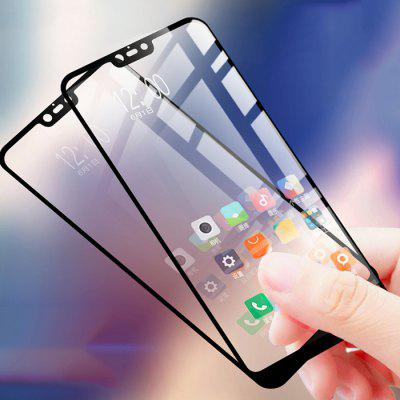 Luanke Full Screen Mobile Phone Tempered Glass Protective Film Combination Set for Xiaomi Mi 8 Lite 2pcs
