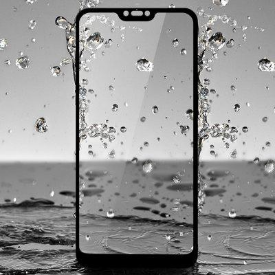 Luanke Full-screen Mobile Phone Tempered Glass Screen Protector for Xiaomi Mi 8 Lite