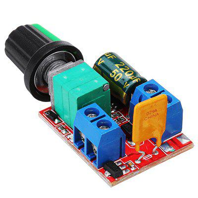 Mini 3V 6V 12V 24V 35VDC 90W 5A DC Motor Speed Controller Switch LED Dimmer