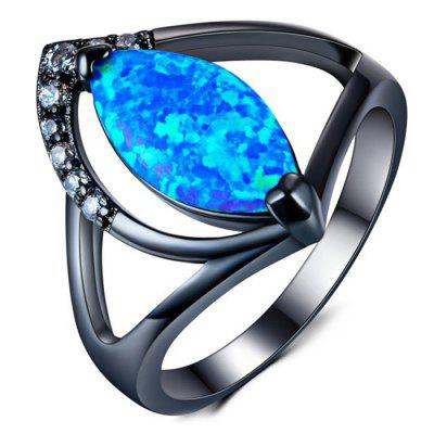 Opal Diamond Lady's Ring