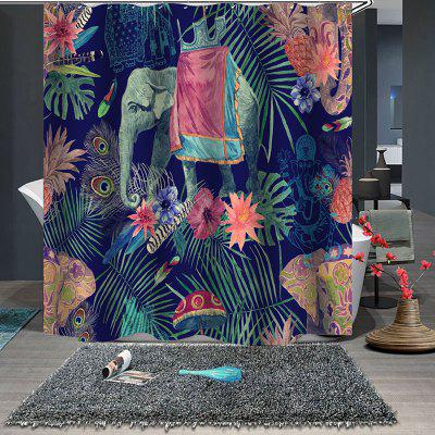 Waterproof Polyester Personality Shower Curtain