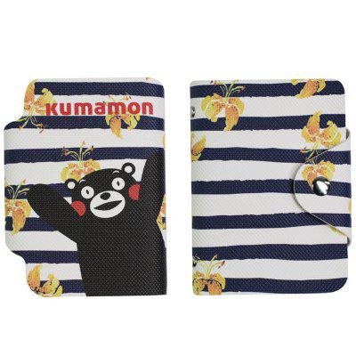 Kuforová taška KUMAMON Fashion Simple Cloth Card