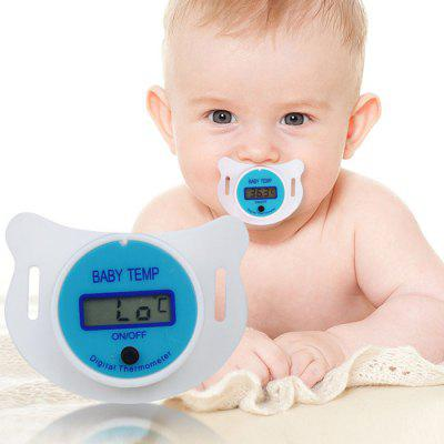 Baby Nipple Thermometer Medisch LCD Digitaal Temperatuur Meetinstrument