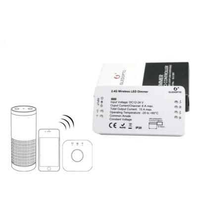 GLIDOPTO C - 009 Zigbee WiFi RGB LED Lamp Strip Control Dimmer de la distanță
