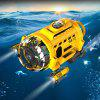 SILVERLIT Dive Mini Electric Wireless Remote Control Camera Submarine Model Toy - YELLOW