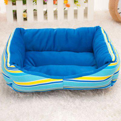 Rainbow Striped Pet Nest Sofa Bed
