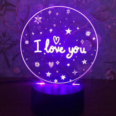 3D Night Touch Colorful Decorative Gifts Decorative Lights