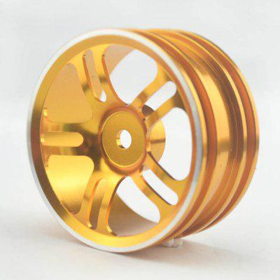 1 / 10 Aluminum Alloy Flat Running Wheel
