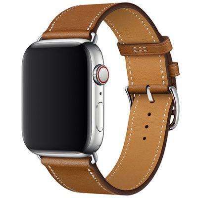 Leather Belt Single-ring Strap for Apple Watch 42mm