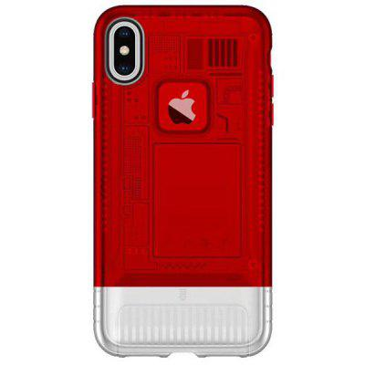 Angibabe Custodia ultrasottile in TPU due-in-one da 6,1 pollici per iPhone XR