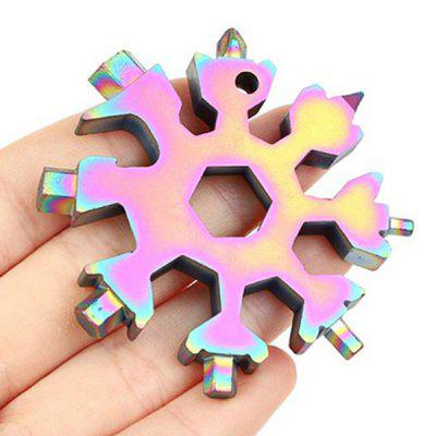 All-in-1 Snowflake Shape Multifunctional Tool
