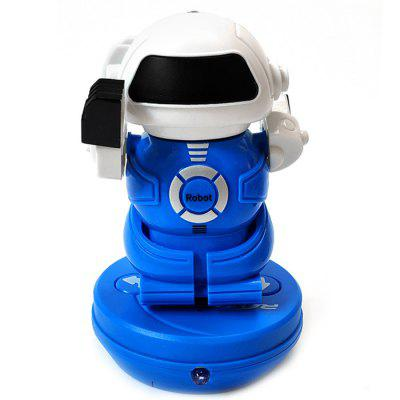 Mini-pull-ring może RC Robot Infrared Puzzle Toy dla dzieci