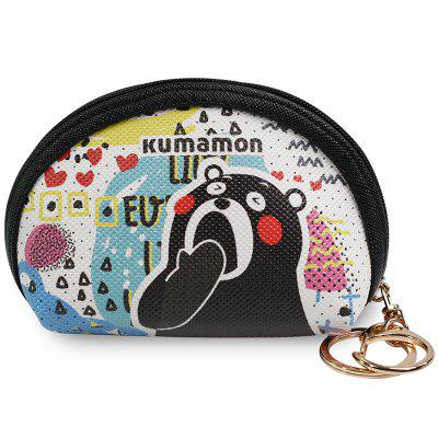 KUMAMON Cool MA Cute Cloth Coin Purse